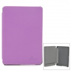 Protective PU Leather Case Cover for Sony PRS T3 eBook Reader - Purple + Black
