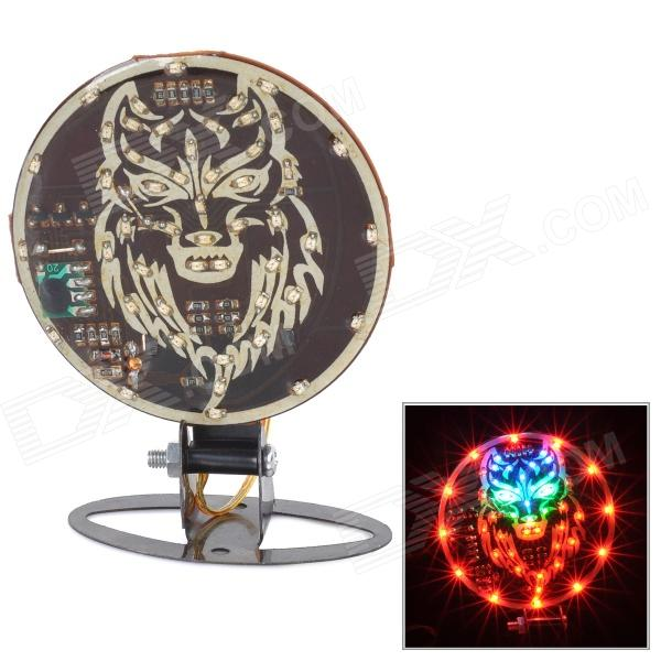 DIY 2W 35lm 48-LED Colorful Light Motorcycle Brake Decoration Lamp (DC 12V) motorcycle modified brake speaker silver 12v