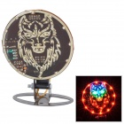 DIY 2W 35lm 48-LED Colorful Light Motorcycle Brake Decoration Lamp (DC 12V)
