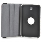 Fashion National Style Rotatable PU Leather Case for Samsung Galaxy Tab 3 7.0 T210 - Multicolored