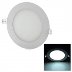 9W 600lm 6000K 45-SMD 2835 LED White Light Round Panel Light (AC 85~265V)