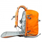 CADEN E5 Anti-theft Canvas Backpack Bag for Canon / Nikon DSLR Camera - Orange