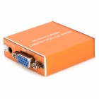 HDMI a VGA + Optical MHL a VGA + SPDIF Audio Converter soporta 5.1 canales 1080P - Orange