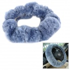 Jinfeng 38-2 Auton Wool Cashmere Steering Wheel Cover - Blue Grey