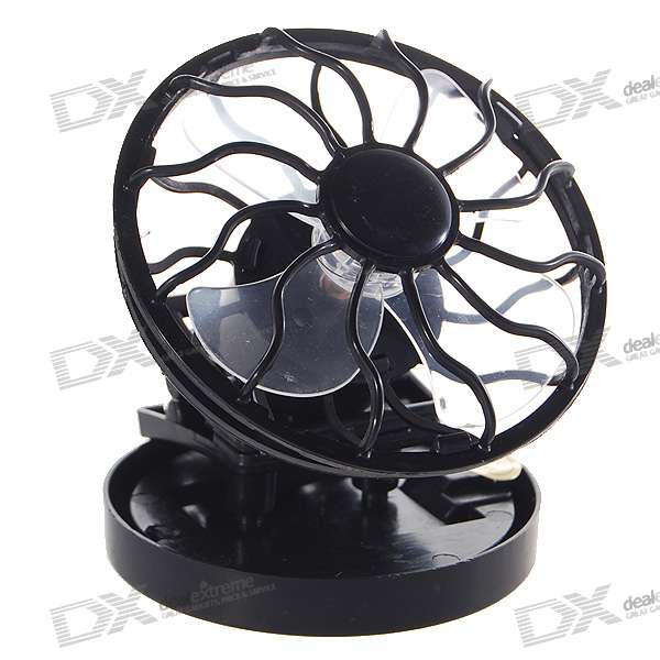 Solar Powered Clip-on Cap/Hat Cooling Fan