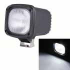 "60 Degree Flood Square 4"" 55W 4300lm HID White Light Offroad Lamp / SUV ATV Lamp / Driving Lamp"