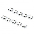 SMT Micro USB Female Sockets - Silver (10 PCS)