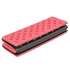 HARLEM HL808 Waterproof Ourdoor Portable Honeycomb Cushion - Red + Black