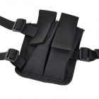 600D Oxford Nylon Shoulder Pistol Holster - Black