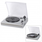 Shenle T518 Convertable Vinyl Record Player w / USB / Dual-Stereo-Lautsprecher Cinch-Ausgang (EU-Stecker)