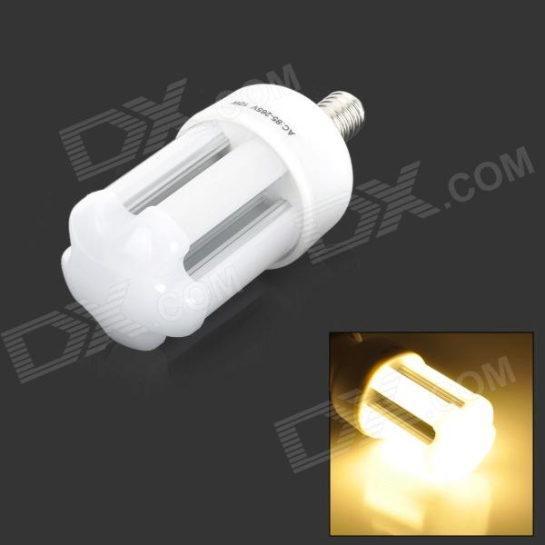 Fengyangdengshi 016 E14 10W 330LM 3000K Warm White 3528 SMD LED Corn Lamp - White (85~265V) contemporary and contracted three small droplight nordic restaurant led creative personality art stage chandeliers office lamps