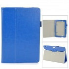 "Protective PU Leather Case w/ Auto Sleep for Amazon Kindle Fire HDX 8.9"" - Deep Blue"