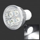 GU10 4W 350LM Cold White Light Dimming LED lampe (110V)