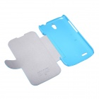 NILLKIN Protective PU Leather + PC Case Cover for HUAWEI G610 - Blue
