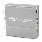 HDMI to AV Video Audio Converter Adapter - Silver Grey