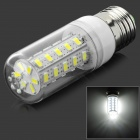 E27 7W 6000K 600lm 36-SMD 5730 LED White Light Mais-Lampe (AC 100 ~ 240V)