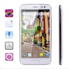 "iNEW i 3000 Quad Core Android 4.2 WCDMA Bar Phone w/ 5"", Dual Card Dual Standby, GPS - White +Silver"