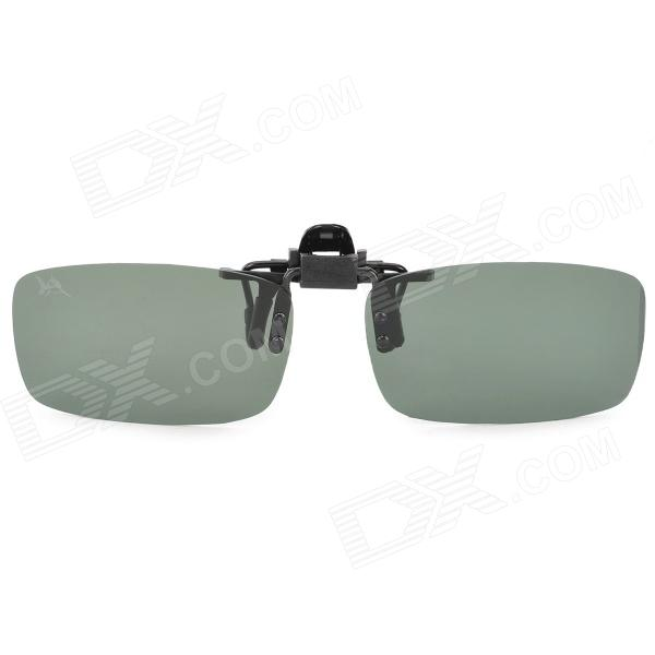 OSSAT SP1061 Clip-on Optical Polarized UV400 Protection Myopia Sunglasses for Driving (Pair)