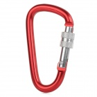 Creeper Aluminum Alloy Quick Release Buckle - Red (Size M)