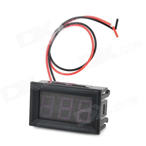 HZDZ 3-Digit Red LED Digital Voltage Meter (DC 4.5V~30.0V) 100 pcs ld 3361ag 3 digit 0 36 green 7 segment led display common cathode