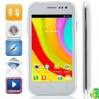 "C4 MTK6572 Dual-Core Android 4.2.2 WCDMA Bar Phone w/ 4.0"", 4GB ROM, Wi-Fi, GPS - White"