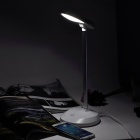 1W 6500K 130lm White Light Eye- protection USB Lampe de bureau - Blanc