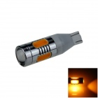 T15 / T13 / 921 7.5W 400lm 5-LED Orange Car Clearance lamp / Side / Backup light- (12~24V)