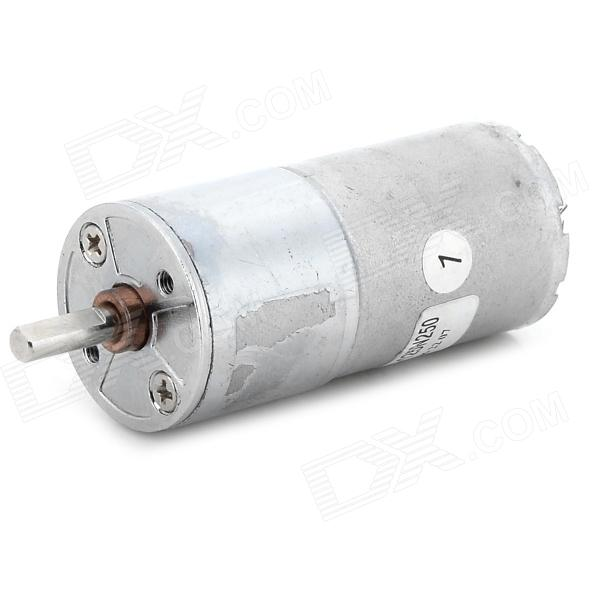 DC 12V 200RPM Geared Motor - Silver - DXDIY Parts &amp; Components<br>Application: cash registers electric windows medical equipment instrumentation solar water heaters automatic office machine paper shredder electric oven stage lighting electrical power switch automatic mahjong machine automatic power supply power door locks safes bank ticket counters car door locks and other crafts.<br>