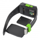 gps301 1.5'' LCD Watch Style GSM / GPRS / GPS Tracker - Black + Jade Green
