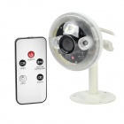 Lamp Style 720P IR Remote Control CCTV Camera - White