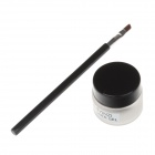 XUEYINZI Fashion Charming Strong Eye-liner Gel / Eyeliner Anointed Brush - Black + Silver + Brown