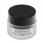 XUEYINZI mode charme fort eye-liner Gel / Eyeliner oint brosse - Black + Silver + Brown