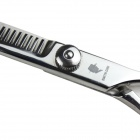 "SMITH CHU CL38-628 6"" Stainless Steel Barber Shears Salon Hair Cutting Scissors - Silver (7cm-Blade)"