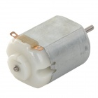 130 DIY 9V Low Speed Mute Motor - Silver (6~12V)