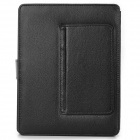 "Bluetooth V3.0 Keyboard PU Leather Case w/ Stand for 9.7"" Tablet PC - Black"