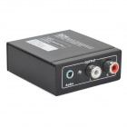 Digital till Analog Audio Converter - svart