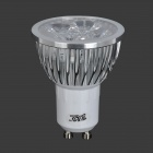 JRLED 4W GU10 fresco Spotlight White Light 360lm 4-LED (85 ~ 265V)