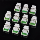 RJ11 Information Module - Grey (10PCS)
