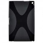 "Protective X Line TPU Back Case for 10.1"" Nokia Lumia 2520 - Black"