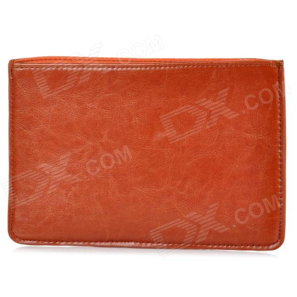 Protective Zippered PU Leather Bag Sleeve for 7