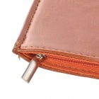 "Beskyttende glidelås PU Leather Bag Sleeve for 7 ""Tablet PC - Rufous"