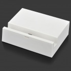 1000mA 5V Charging Dock Station w/ Micro USB Charging Cable for LG Nexus 5 - White + Black