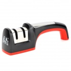TAIDEA T1005DC Convenient 2-section Kitchen Knife Sharpener - Black + Red