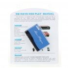 Ultra Mini RM/RMVB/MPEG4 Media Player with SD/MS/USB Host and Remote Control