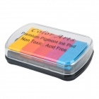 Convenient 5-color Pigment Ink Pad - Multicolored