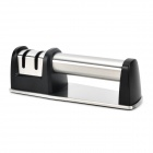TAIDEA T1007DC Convenient Household Knife Sharpener - Black + Silver