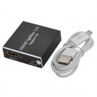 HDMI Signal Amplifier Splitter - Black (1-In / 2-Out)