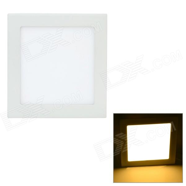 купить LSON G-015 15W 750lm 3000K 75-2835 SMD LED Warm White Panel Lamp - White (AC 85~265V) недорого