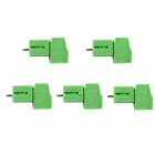 Jtron Terminal Block 3P Stecknadel / 3,5 mm Pitch Steckverbinder - Green (5 PCS)