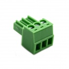 Jtron Terminal Block 3P Straight Pin / 3.5mm Pitch Connector - Green (5 PCS)